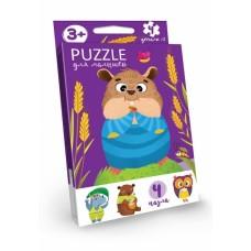 Пазлы для малышей Puzzle DANKO TOYS