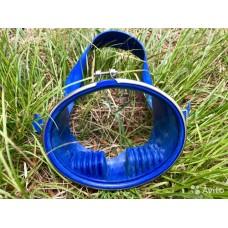 Маска для плавания Profi Глубинка синяя