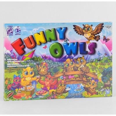 """гр Настольная развлекательная игра """"Funny Owls"""" DTG98 (20) """"ДАНКО ТОЙС"""""""