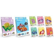 Пазлы для малышей Puzzle For Kids 2-стороны с2 DANKO TOYS