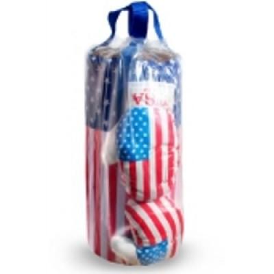 Детская груша с перчатками США оптом
