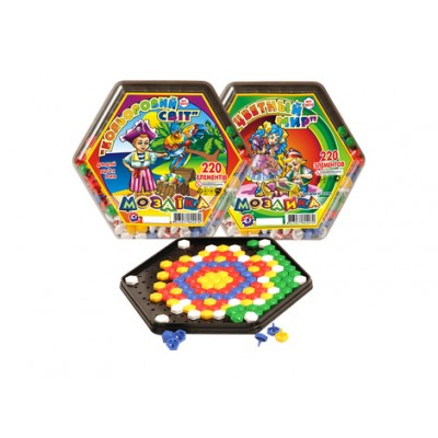 Игрушка мозаика Цветной мир ТехноК арт.2070 оптом