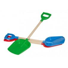 Игрушка Лопатка малая с деревянной ручкой ТехноК арт2896