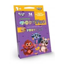 «Фортуно-Fortuno» 56 карт «ФортУно» - настольная игра для самых маленьких Она поможет развить внимательность и скорость реакции у детей, а так же выучить…