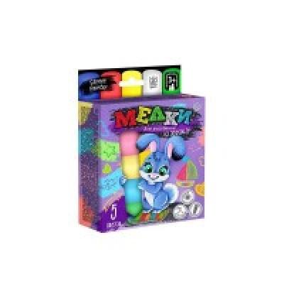 Детская игрушка Мел для рисование на асфальте MEL-01-03 5 шт