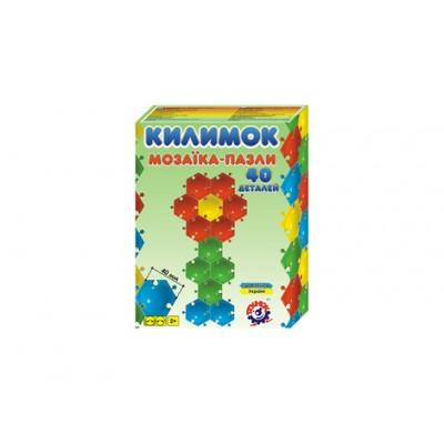 Игрушка мозаика-пазлы Коврик ТехноК арт.2940 оптом