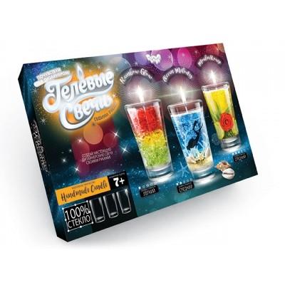 ГЕЛЕВЫЕ свечи в стеклянных стаканчиках Данко Тойс оптом