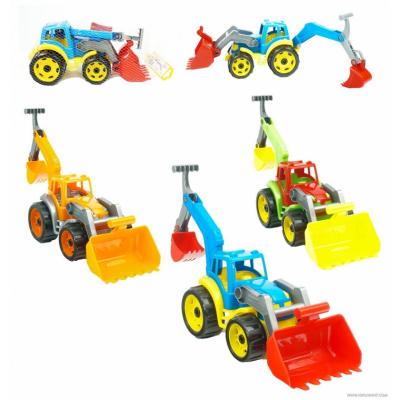 Трактор с двумя ковшами ТехноК (3671) оптом