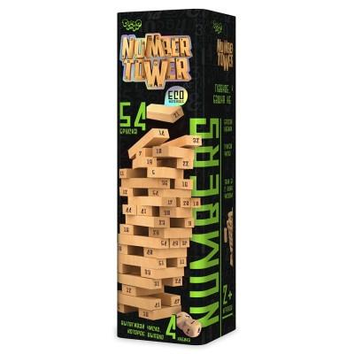 Number Tower Number Tower отлично тренирует мелкую моторику рук и помогает сосредоточиться Эта настольная игра увлечет детей и взрослых, подойдет для всей…