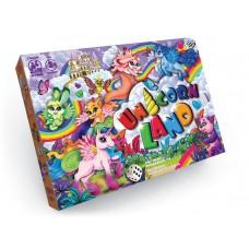 """Unicorn Land Весёлая настольная игра-ходилка """"Unicorn Land"""" - это красочное путешествие с единорожками, которое перенесёт вас в мир приключений и азарта"""