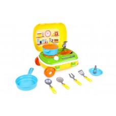 """Игрушка """"Кухня с набором посуды ТехноК"""", арт 6078"""