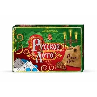 Danko Toys Русское Лото Зеленый оптом