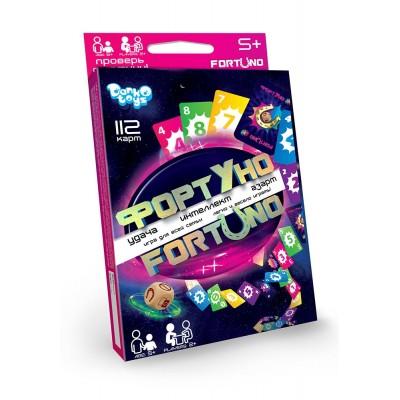 Фортуно-Fortuno» 112 карт «ФортУно» - игра, которая всегда проходит весело, азартно, а главное, каждый раз по-новому