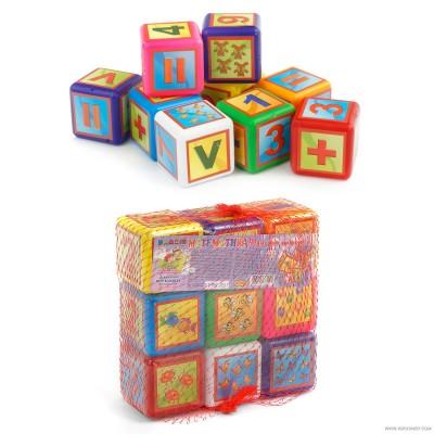 Кубики Математика  028/2 BAMSIC оптом