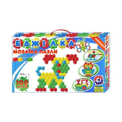 Игрушка мозаика-пазлы Пчелка ТехноК арт.1035 оптом