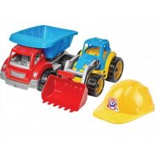 Игрушка Малыш - строитель 2 ТехноК, арт 3985