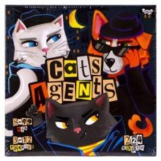 """НАСТОЛЬНАЯ ИГРА """"CATS AGENTS"""" УКР., DANKO TOYS G-CA-01-01U"""