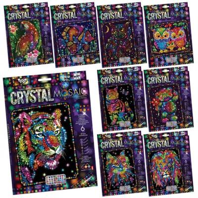 Набор для творчества хрустальная мозаика Crystal mosaic Danko toys CRM-01
