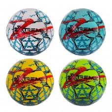 FP2107  Мяч футбольный FP2107 (32шт) Extreme Motion №5,MICRO FIBER JAPANESE,410 гр,руч.сшивка,камера PU,MIX 4 цвета,Пакистан