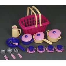 Набор посуды от украинского производителя ТЕХНОК (4449)