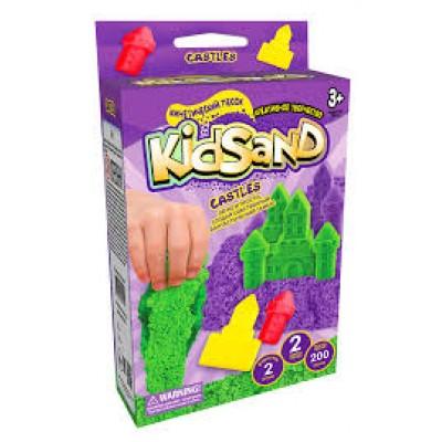 KidSand Mini KidSand – кинетический песок для детей! Стройте песочные фигуры и замки у себя дома! Легко и просто, создай собственный фантастический мир!