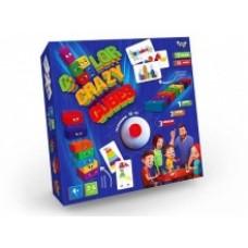 Игра Сумашедшие Цветные Кубики УКР DANKO TOYS