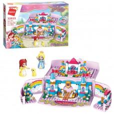 Конструктор Qman 32013 Замок принцессы в шкатулке, 301 деталь