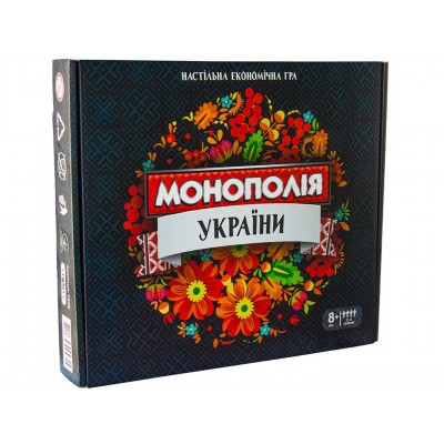 Настільна гра Strateg Монополія України ,арт. 7008 оптом
