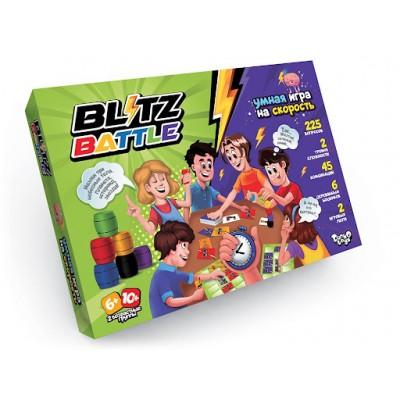 Настольная развлекательная игра на скорость Blitz Battle оптом